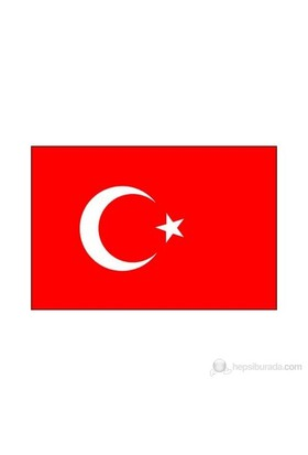 Türk Bayrağı Alpaka Kumaş 50x75