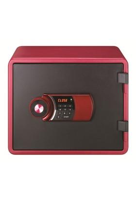 NamiSafe NPS020 Elektronik Şifreli Çelik Kasa (Bordo)