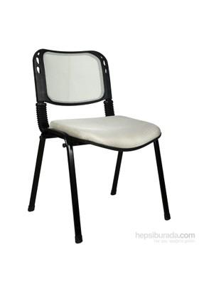 2016R0546 - Bürocci Fileli Form Sandalye - Gri