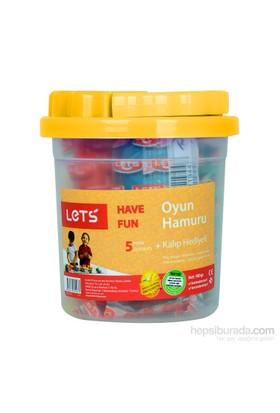 Lets L-8100 5 Renk Oyun Hamuru (Kalıp Hediyeli)