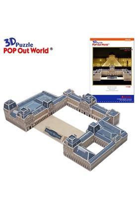 Scholas Puzzle Louvre Museum (3 Boyutlu)