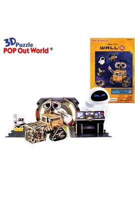 Scholas Puzzle Maket Wall-E (3 Boyutlu)