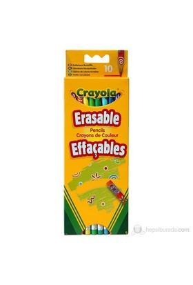 Crayola 10 Silinebilir Kuru Boya Kalemi