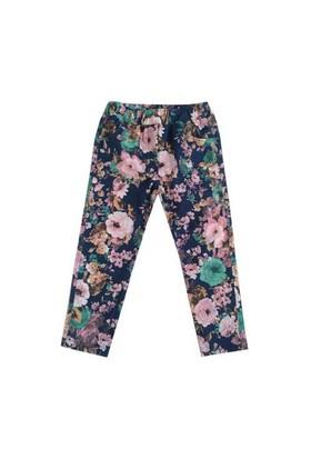 Zeyland Kız Çocuk Pembe Cicekli Tayt Pantolon K-42Kl204109