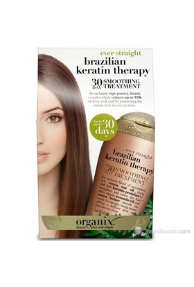 Organix Brazilian Keratin Therapy 30 Day Smoothing Treathment - 30 Gün Etkili Fön Bakımı