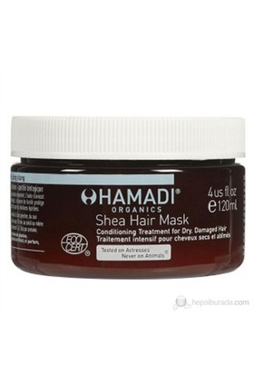 Hamadi Shea Hair Mask 120ml - Shea Saç Maskesi