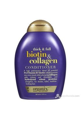 Organix Biotin & Collagen Conditioner - Full Dolgunlaştırıcı Biotin Kolajen Bakım Kremi 385mL