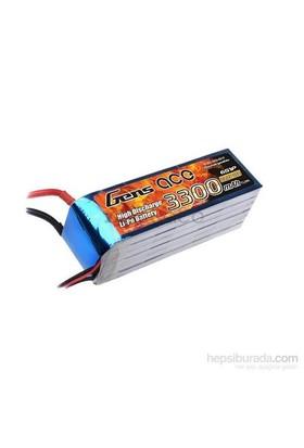 Gens Ace 3300Mah 22.2V 35C 6S1p Lipo Batarya