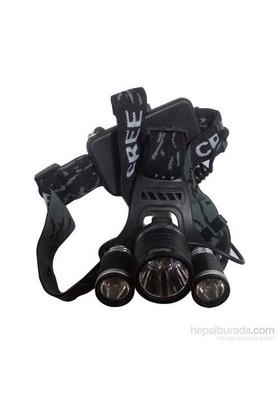 Watton Wt-256 3 Başlı Kafa Feneri