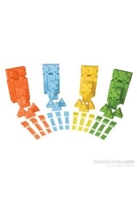 King Kids Art Blok Lego 88 Parça