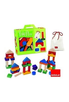 Goula Ahşap Bloklar 45 Parça (50245)