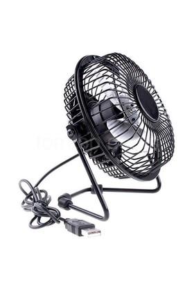 Masaüstü Metal Mini Fan (USB Girişli Vantilatör)