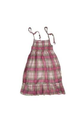 Zeyland Kız Çocuk Cizgili Pembe Elbise K-Hzs-0135A