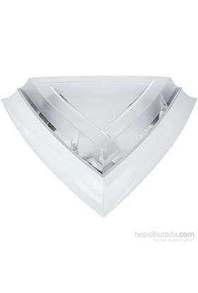 Ilıa Jumbo Glop Armatür Beyaz 3 Duylu