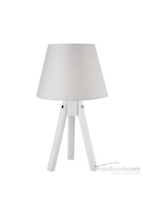 Modelight Trıpod Abajur Beyaz Ayak / Beyaz Şapka