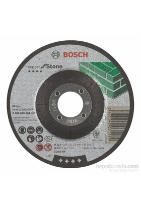 Bosch - Expert Serisi Taş İçin Bombeli Kesme Diski (Taş) - C 24 R Bf, 115 Mm, 2,5 Mm