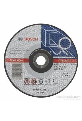 Bosch - Expert Serisi Metal İçin Düz Kesme Diski (Taş) - A 30 S Bf, 180 Mm, 3,0 Mm