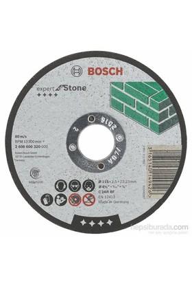 Bosch - Expert Serisi Taş İçin Düz Kesme Diski (Taş) - C 24 R Bf, 115 Mm, 2,5 Mm