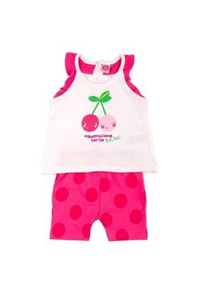Tuc Tuc Çocuk T-Shirt Tayt Takım, Cherry Day