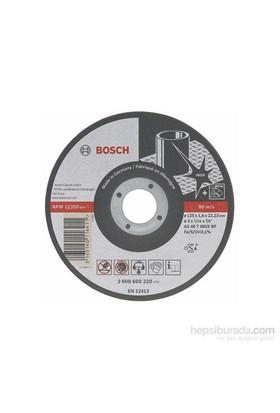 Bosch - Best Serisi Inox (Paslanmaz Çelik) İçin Düz Kesme Diski-Rapido Uzun Ömürlü - A 60 W Bf 41, 115 Mm, 22,23 Mm, 1,0 Mm
