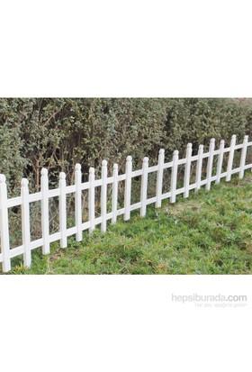 Worth Garden Bahçe Çiti Plastik Beyaz 60,5X33 Cm Ws7003