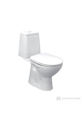 Ece Banyo Riga Alttan Çıkışlı Klozet Set