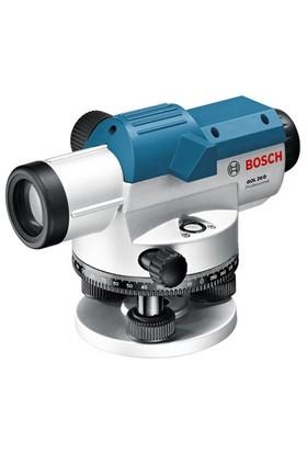 Bosch Gol 20 D Optik Hizalama/Optik Nivo (Ölçüm Birimi : Derece) + Profesyonel Hafif Alüminyum Tripod Ve Profesyonel Alümiyum Mira