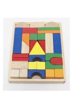 Hongji Ahşap 93508 Geometrik Şekiller Bohjd93508
