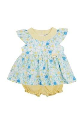 Zeyland Kız Çocuk Cicekli Tunik+Sort K-51M422roy47