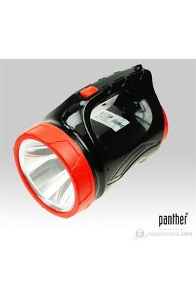 Panther PT-8835A 7W Ledli Şarjlı Spot Fener
