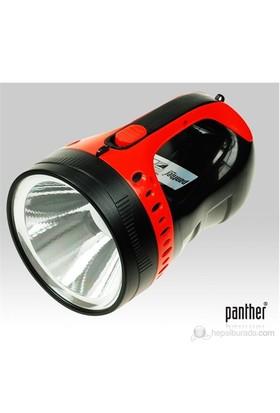 Panther PT-8930A 5W Ledli Şarjlı Spot Fener