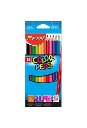 Maped Kuru Boya 12 Renk Color Peps