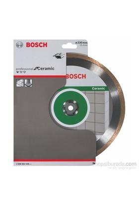 Bosch - Standard Seri Seramik İçin Elmas Kesme Diski - 230 X 25,40 X 1,6 X 7 Mm