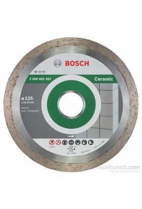 Bosch - Standard Seri Seramik İçin Elmas Kesme Diski - 125 X 22,23 X 1,6 X 7 Mm