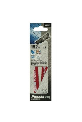 Piranha X22172 Metal Tilki Kutruğu Testere Bıçağı 5-132 Mm