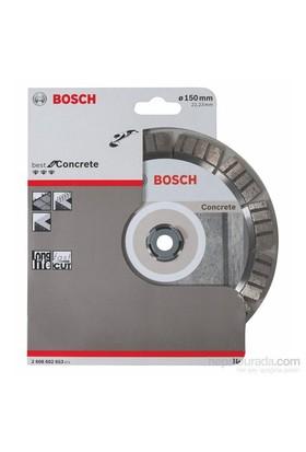 Bosch - Best Serisi Beton İçin Elmas Kesme Diski - 150 X 22,23 X 2,4 X 12 Mm