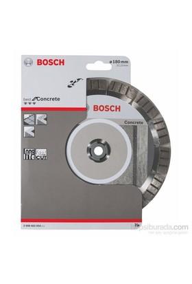 Bosch - Best Serisi Beton İçin Elmas Kesme Diski - 180 X 22,23 X 2,4 X 12 Mm
