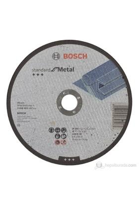 Bosch - Standard Seri Metal İçin Düz Kesme Diski (Taş) - A 30 S Bf, 180 Mm, 22,23 Mm, 3,0 Mm