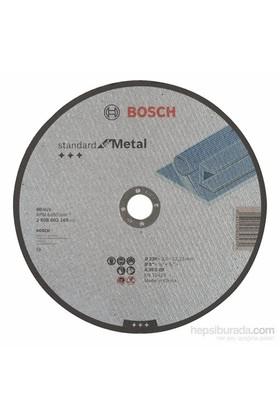 Bosch - Standard Seri Metal İçin Düz Kesme Diski (Taş) - A 30 S Bf, 230 Mm, 22,23 Mm, 3,0 Mm