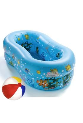 Cosfer Çocuk Havuzu Ve Deniz Topu Seti (Oval Çocuk Havuzu-Deniz Plaj Topu HS-3267