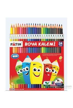 Fatih 24 Renk Tam Boy Kuru Boya Kalemi (33225)