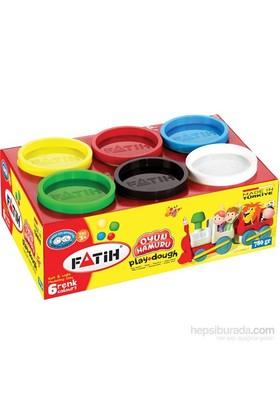 Fatih 6 Renk Oyun Hamuru (6*130=780gr)