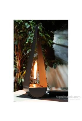 GardenLife Dekoratif Gaz Lambası - Drabe Gazlı Mumluk 38 Cm