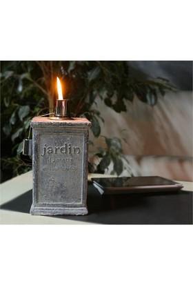 GardenLife Dekoratif Gaz Lambası - Jardin L Gazlı Mumluk