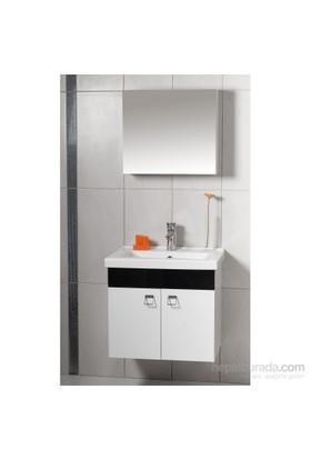 Sude 65 Cm Banyo Dolabı Siyah
