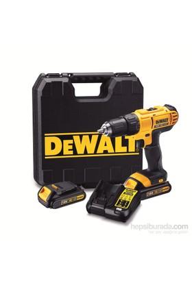 Dewalt DCD771C2 18V Lityum Çift Akülü Vidalama