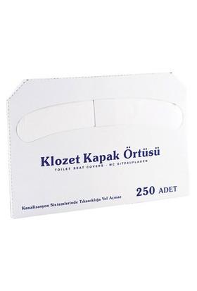 Rulopak Klozet Kapağı Örtüsü Kağıdı 1 x 250'li Paket