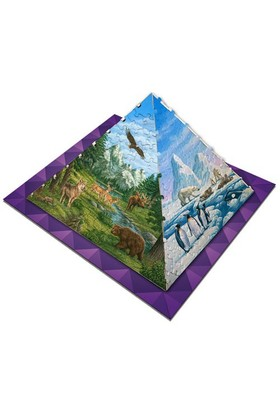 Masterpieces Puzzle Piramit- Animals of the World (365 Parça)