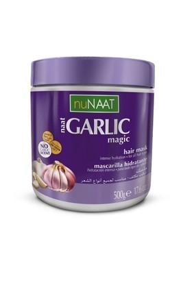 Nunaat Garlic Mask 500 Ml Sarımsaklı