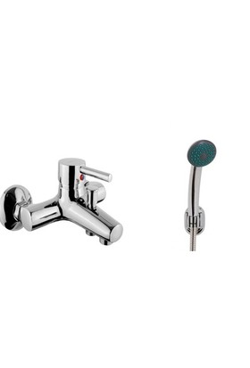 Diamond Rainy Minimal Banyo Bataryası + Mafsallı Duş Takımı